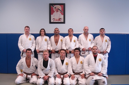 Brown belt group (Assistant Instructor)
