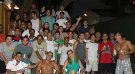 Foto do grupo.