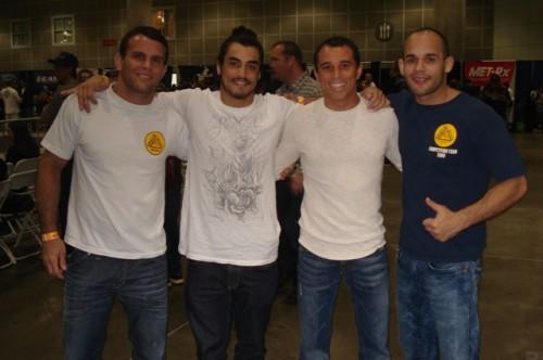 Régis,Kron,Royler and João.