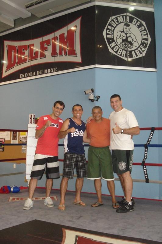 Gabriel,Royler,Claudio e Pedro Rizzo