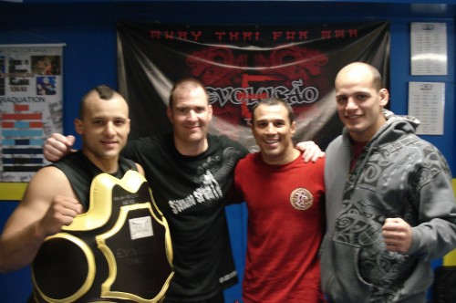 Mauricio,Chris,Royler and Xande.