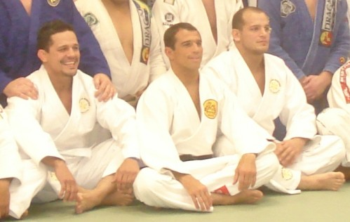 Saulo,Royler and Xande.University of Jiu-Jitsu.