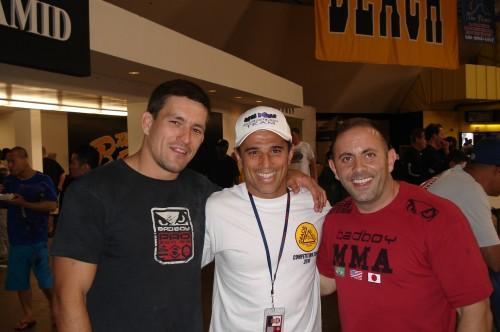 Demian,Royler and Alejarra.
