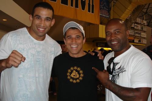 Werdum,Royler and Rafael.