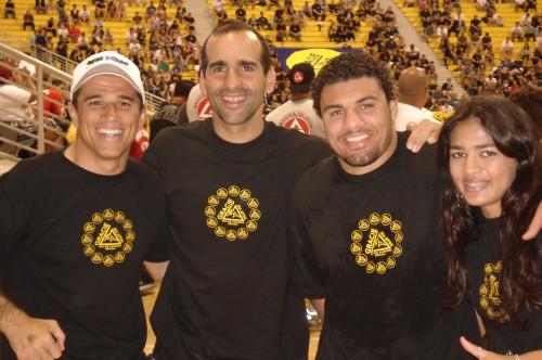 Royler,Renato,Fabrício and Bia.