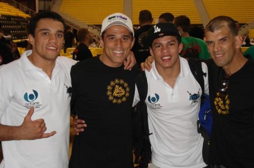 Bruno,Royler,Ari and Megaton.