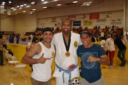 Johnny,Raszell(gold medal)and Royler.