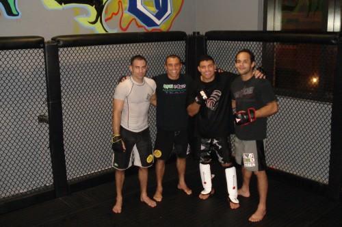 Moshe,Royler,Morango and Jonny.