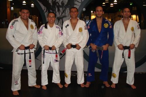 Fabrício,Letícia,Royler,Jonny and Moshe.