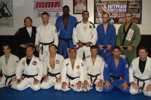 All Black Belts.