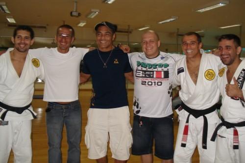 Paulo,Fabricio,Rickson,Luis Neto,Royler and Omar.