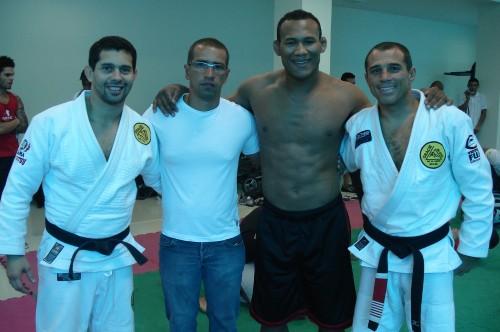 Paulo,Fabricio,Jacare and Royler.