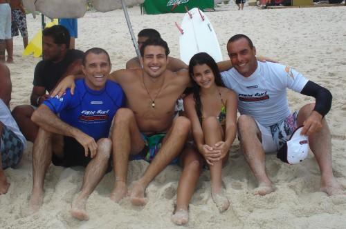Royler,Caua Reymond,Rarine Gracie and Paulo Zulu.