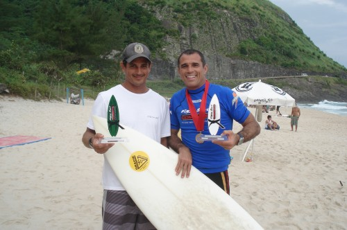 Felipe Gama(1 paddle) and Royler Gracie.