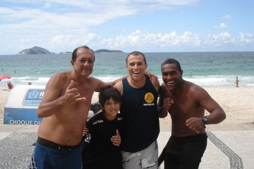 Sydney(Baiano)Kalai,Royler and Jean at arpuador beach