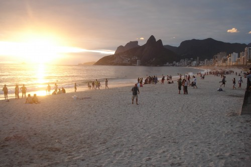 View of Ipanema Beach to Arpuador.