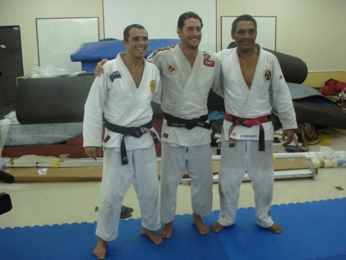 Royler,Flavio and Rickson.