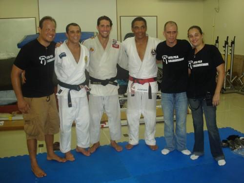 Rodrigo,Royler,Flavio,Rickson,Mariana and Tetel.
