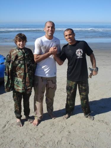 Khonry,Royce and I.