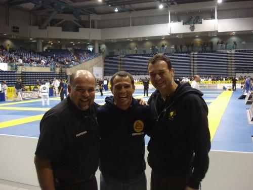 Alvaro,Royler and André.